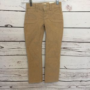 Old Navy girls 5 tan cords